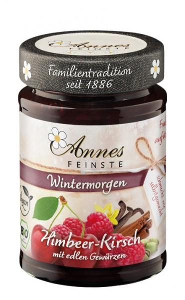 Annes Feinste Bio Himbeer-Sauerkirsch Fruchtaufstrich mit edlen Gewürzen