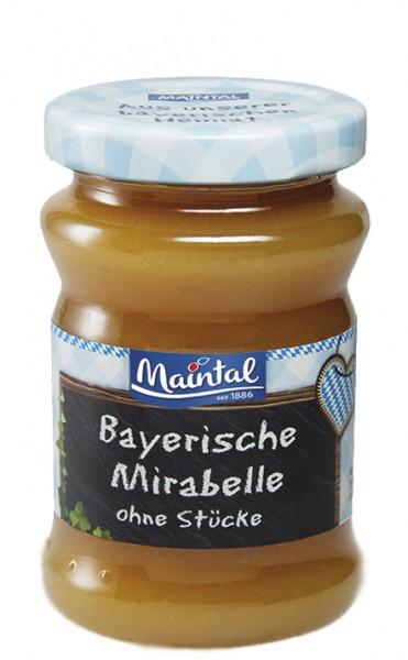 Mirabellen Fruchtaufstrich ohne Stücke - Früchte aus Bayern