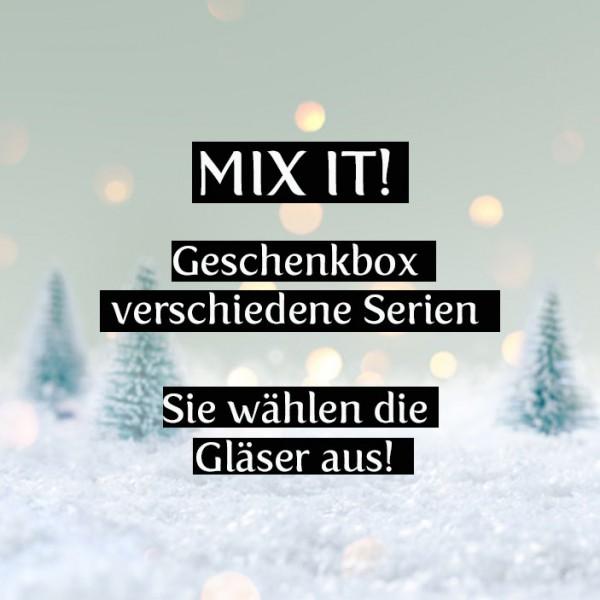 Mix it! Verschiedene Serien, 3-er Weihnachtsgeschenkset