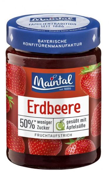 Erdbeer-Fruchtaufstrich, 50 % weniger Zucker
