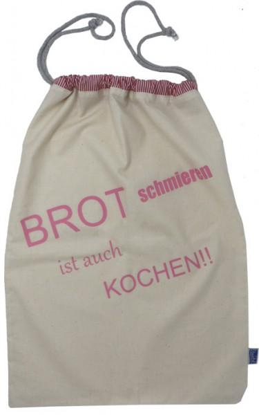 Brotbeutel/Brötchentüte/Stoffbeutel aus unbehandelter Baumwolle