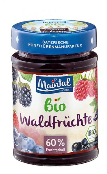 Bio + vegan Waldfrüchte, BIO Mehrfrucht-Fruchtaufstrich