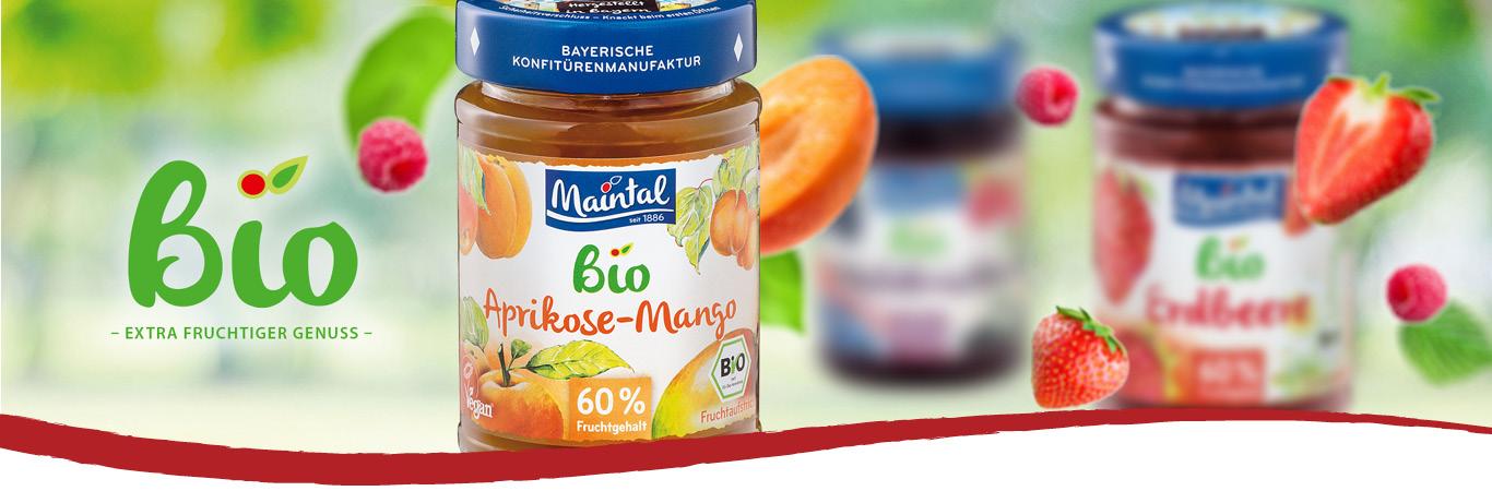 Maintal Bio Fruchtaufstriche
