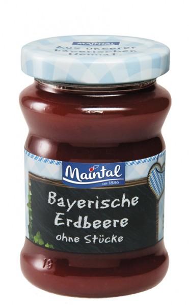 Erdbeer-Fruchtaufstrich ohne Stücke - Früchte aus Bayern