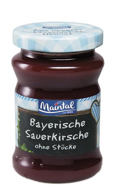 Sauerkirsch-Fruchtaufstrich ohne Stücke - Früchte aus Bayern