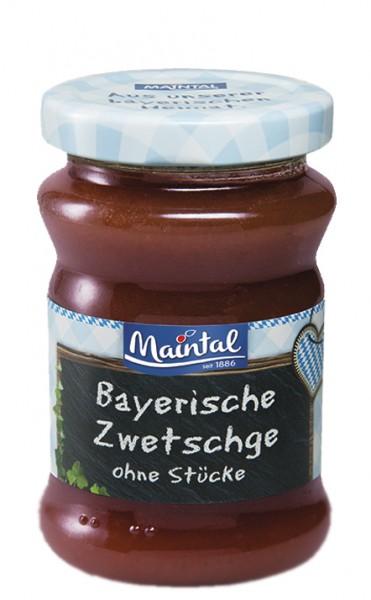 Zwetschge-Fruchtaufstrich ohne Stücke - Früchte aus Bayern