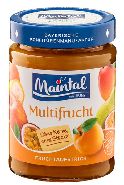 Mehrfrucht Fruchtaufstrich Multifrucht, fein passiert