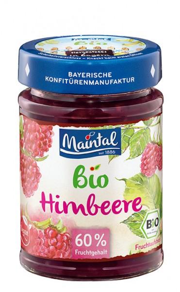 Bio + vegan Himbeer-Fruchtaufstrich