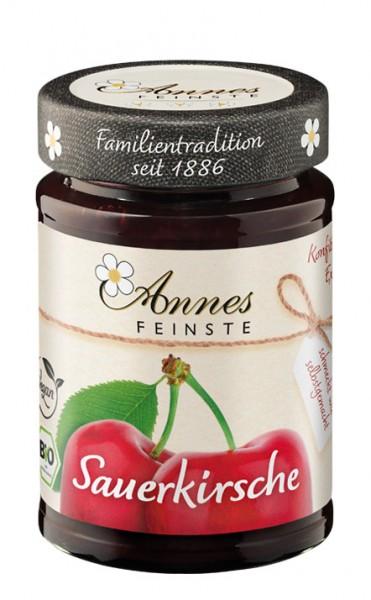 Annes Feinste Bio Sauerkirsch-Konfitüre extra