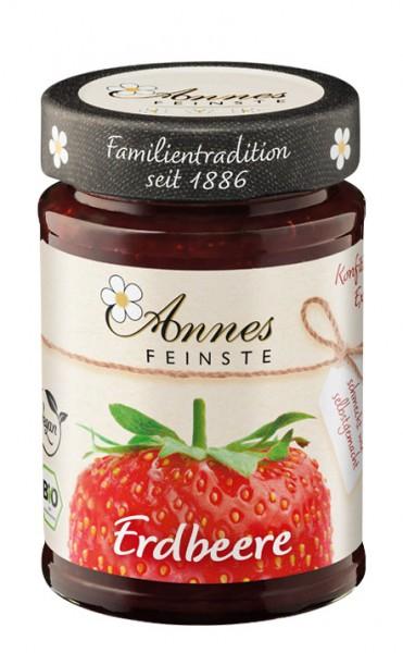 Annes Feinste Bio Erdbeer-Konfitüre extra