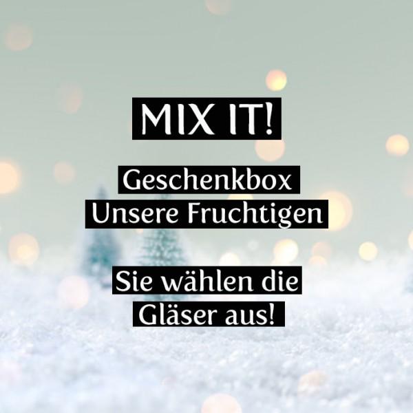 Mix -it! Unsere Fruchtigen, 3er Weihnachtsgeschenkset