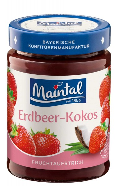 Erdbeer-Kokos Fruchtaufstrich